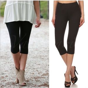 🆕 Black Capri Leggings